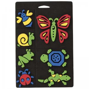 Craft Planet Foam Stamp Set - Creepy Crawlies