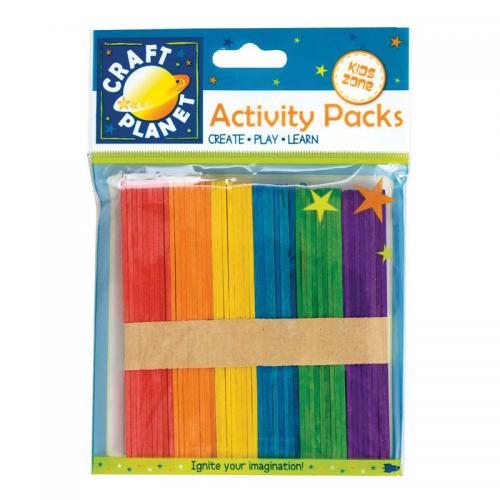 Craft Planet Lollipop Sticks (approx. 50pcs)