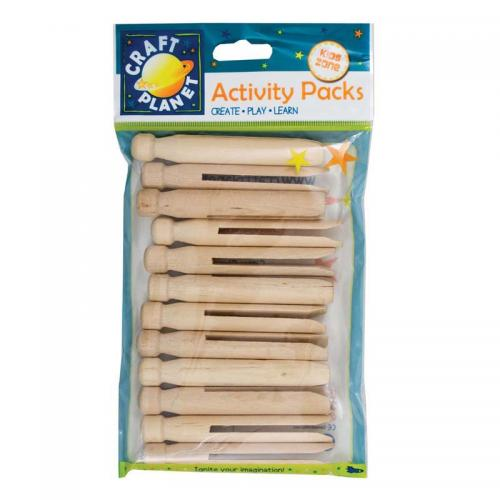 Craft Planet Dolly Pegs (12pcs)
