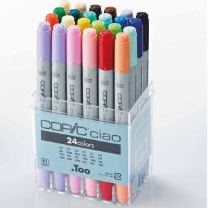 Copic Ciao 24 Piece Set Marker Set
