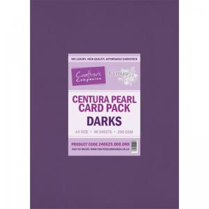Crafter's Companion Centura Pearl A4 Card (40 sheets) Darks
