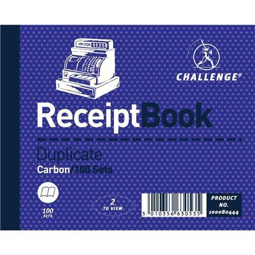 Challenge Carbonless 2 to View Duplicate Receipt Book