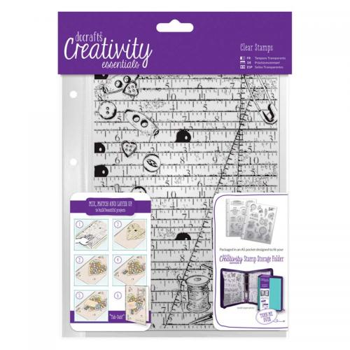CE A5 Clear Background Stamp (1pc) - Haberdashery