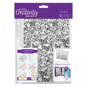 CE A5 Clear Background Stamp (1pc) - Butterflies