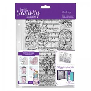 CE A5 Clear Background Stamp (1pc) - Musicality