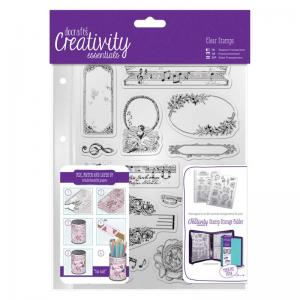 CE A5 Clear Stamp Set (14pcs) - Musicality