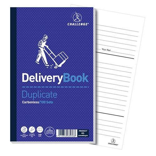 Challenge Carbonless Delivery & Order Duplicate Book