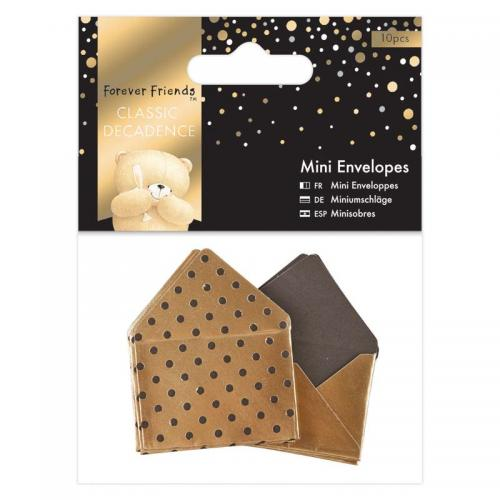 Forever Friends Mini Envelopes (10pcs) - Classic Decadence