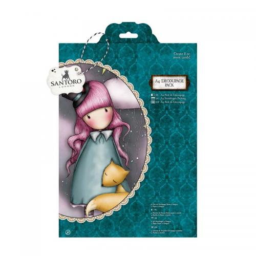 Gorjuss A4 Decoupage Pack - The Dreamer