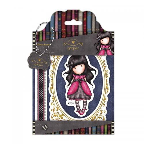 Gorjuss Urban Stamps (3pcs) - Simply Gorjuss - Ladybird