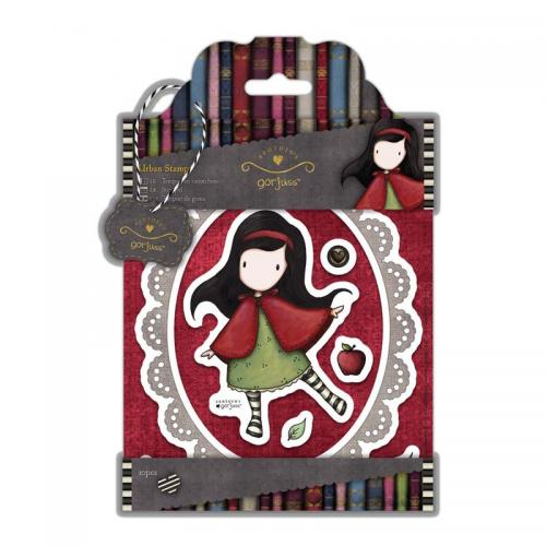 Gorjuss Urban Stamps (10pcs) - Simply Gorjuss - Little Red