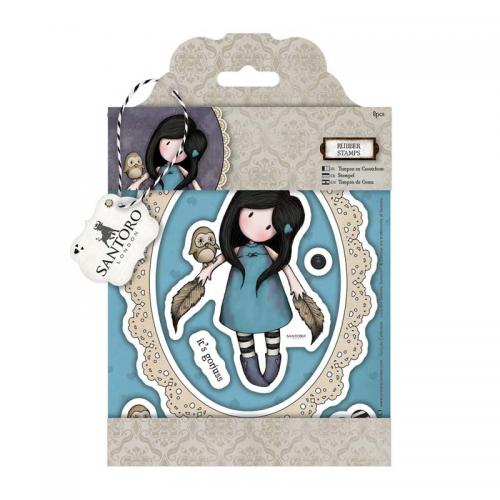 Gorjuss Rubber Stamps - The Owl