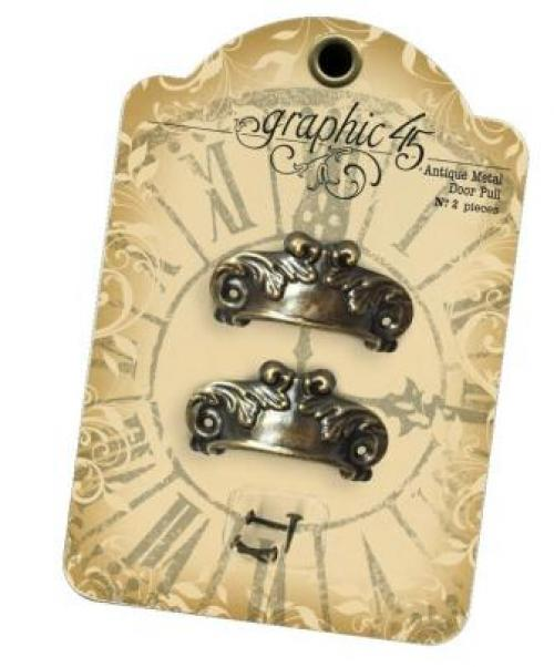 Graphic 45 Staples - Antique Metal Door Pull