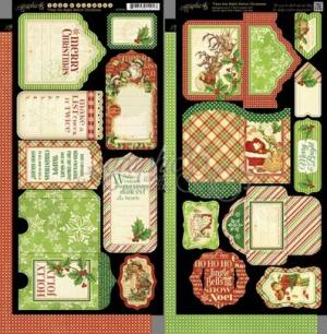 Graphic 45 Christmas Tags & Pockets