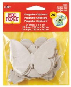 Mod Podge Podgeable Chipboard Shapes