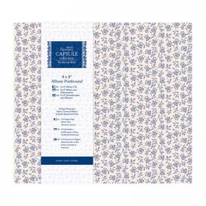 Papermania Postbound Album - Parisienne Blue