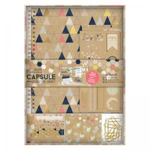 Papermania Scrapbook Set - Geometric Kraft