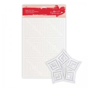 Papermania Make Your Own Christmas Decorations - Snowflakes