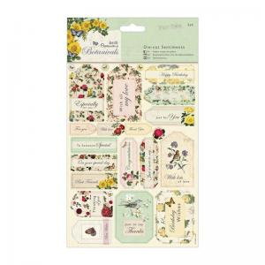 Papermania Die-cut Sentiments (2pk) - Botanicals