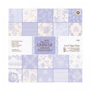 Papermania Paper Pack (32pk) - French Lavender