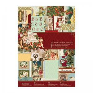 Victorian Christmas A4 Ultimate Die-cut & Paper Pack (48pk)