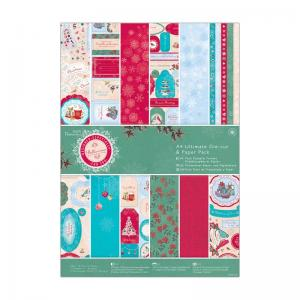 Bellissima Christmas A4 Ultimate Die-cut & Paper Pack (48pk)