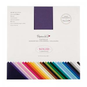 Papermania Solid Premium Cardstock Colossal (75pcs)
