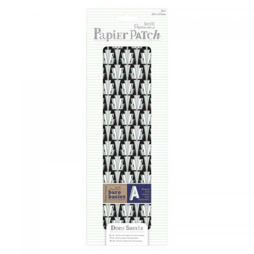 Deco Sheets (3pcs) - Papier Patch - Art Deco