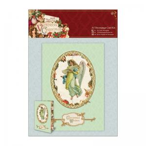 Papermania A5 Decoupage Card Kit - Victorian Christmas