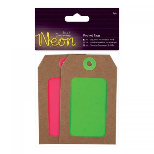 Papermania Pocket Tags (4pk)