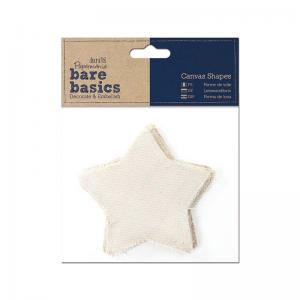 Papermania Canvas Shape (6pk) - Star