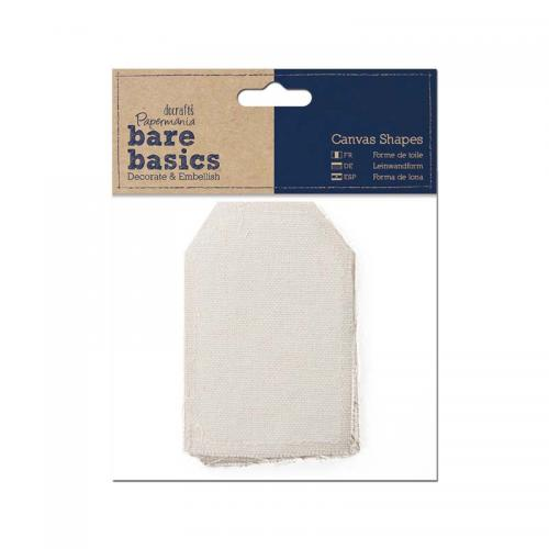 Papermania Canvas Shape (6pk) - Tag