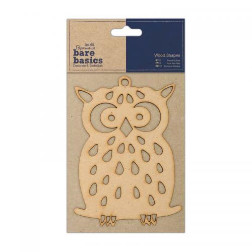 Papermania Wood Shapes - Owl