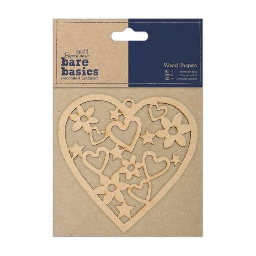 Papermania Wood Shapes - Heart