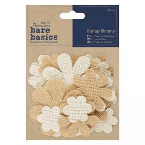 Papermania Burlap Blooms (40pcs)