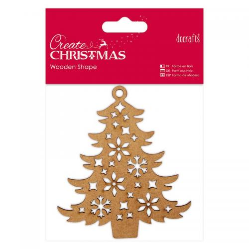 Wooden Shape - Decorative Tree