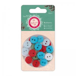 Buttons (30pcs) - Bellissima Christmas