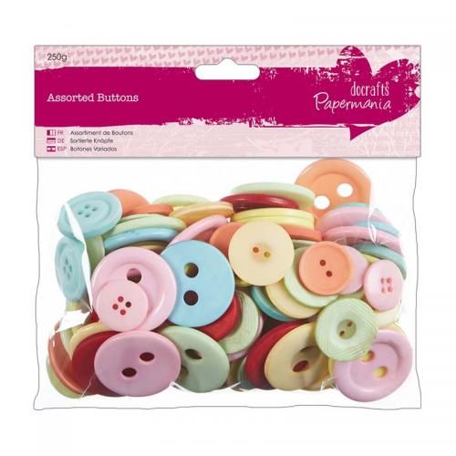 Assorted Buttons (250g)
