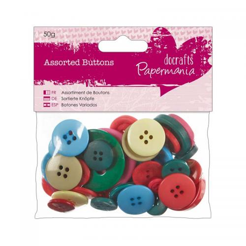 Assorted Buttons (50g)