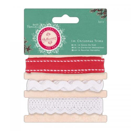 1m Christmas Trims (3pcs) - Bellissima Christmas