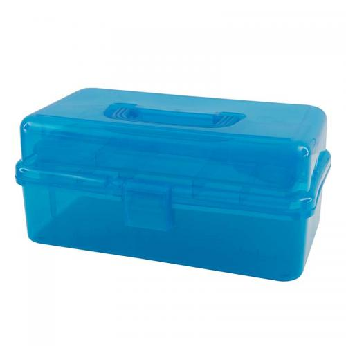 Turquoise Caddy (Matching Tray, Handle & Catch)