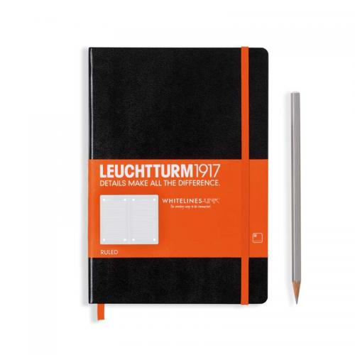 Leuchtturm 1917 Whitelines Medium (A5) Notebook