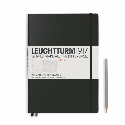 Leuchtturm 1917 Weekly Planner and Notebook Master (A4+) 2017