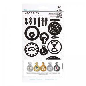 Xcut Dies (21pcs) - Chronology - Pocket Watch (Large)