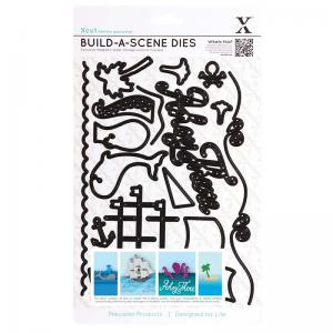 Xcut Build A Scene Dies (16pcs) - Nautical
