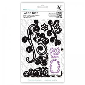 Xcut Large Dies (7pcs) - Floral Flourishes