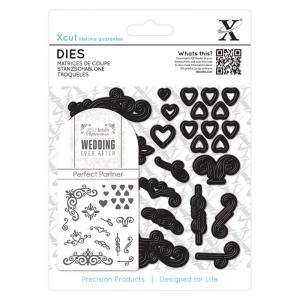 Xcut Dies (25pcs) - Wedding Flourishes
