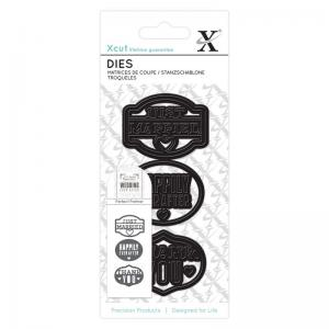 Xcut Small Dies (3pcs) - Just Married