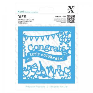 Xcut Dies (1pc) - Congratulations Topper