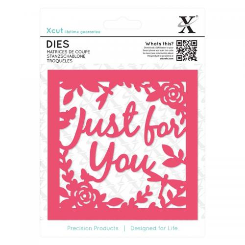 Xcut Dies (1pc) - Just for You Topper